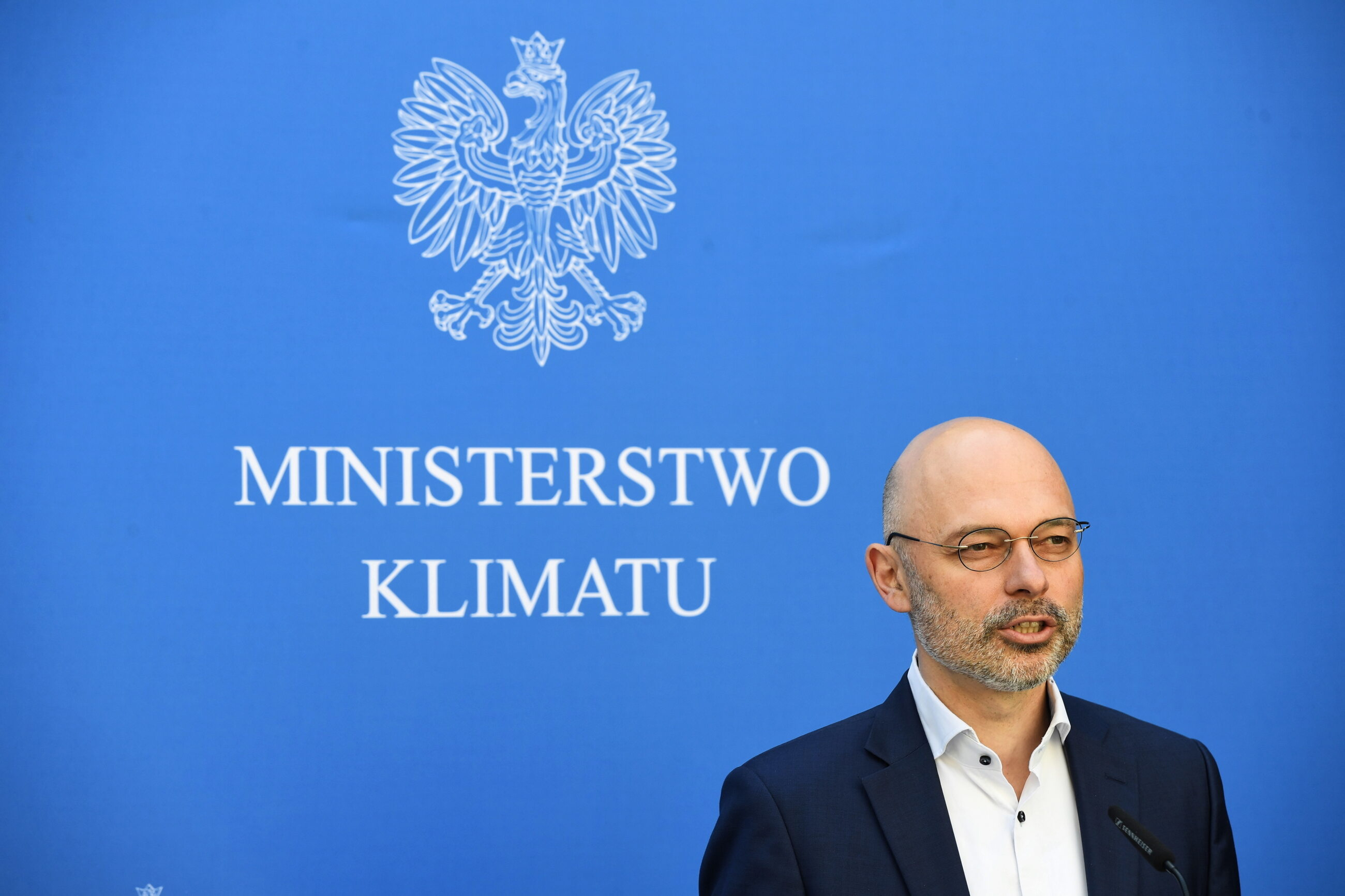 Minister klimatu Michał Kurtyka
