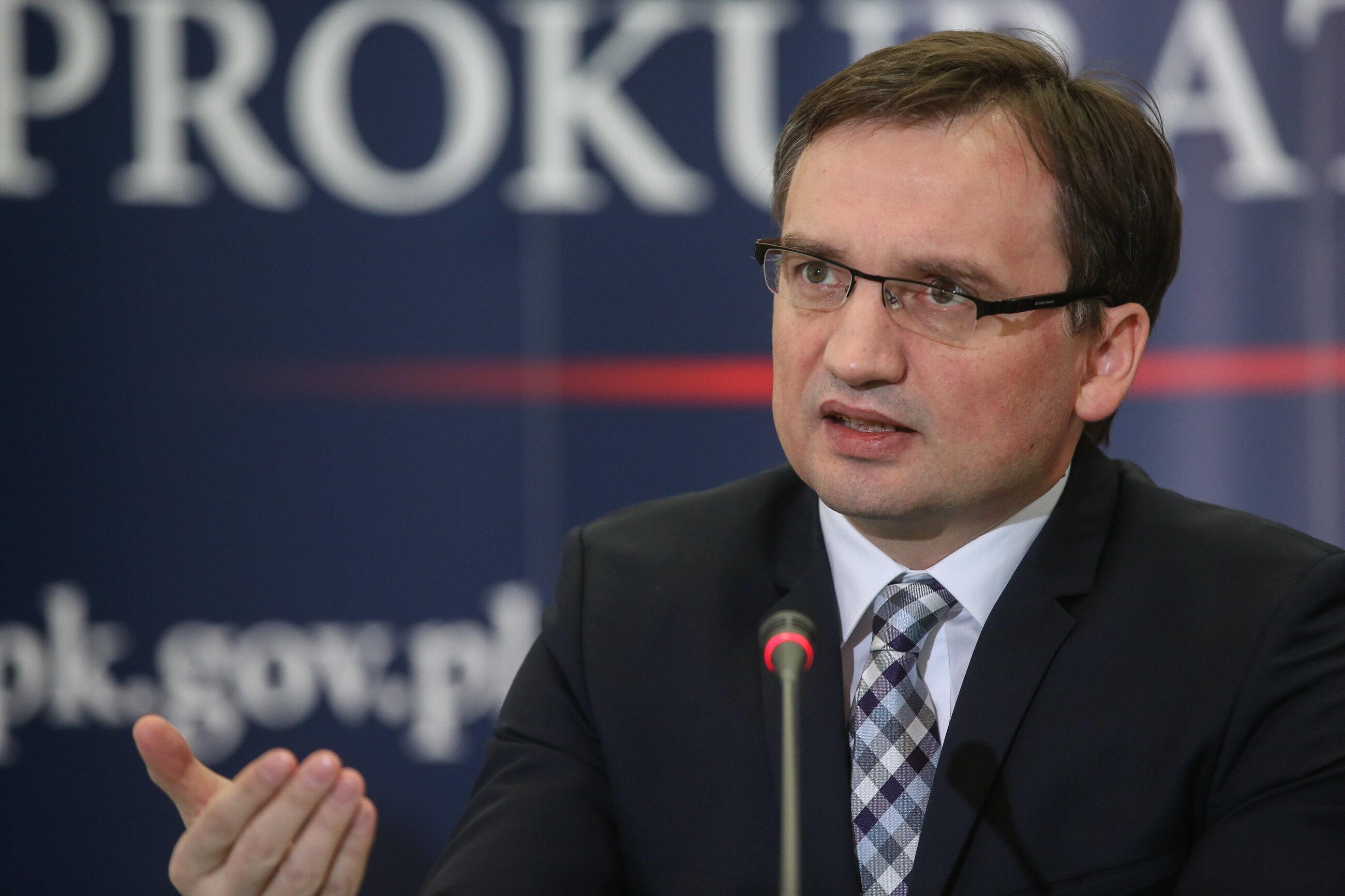 Minister Sprawiedliwości i Prokuratur Generalny Zbigniew Ziobro