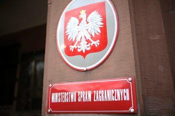 Ministerstwo Spraw Zagranicznych w Warszawie