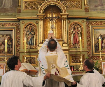 Msza Święta w klasycznym rycie rzymskim