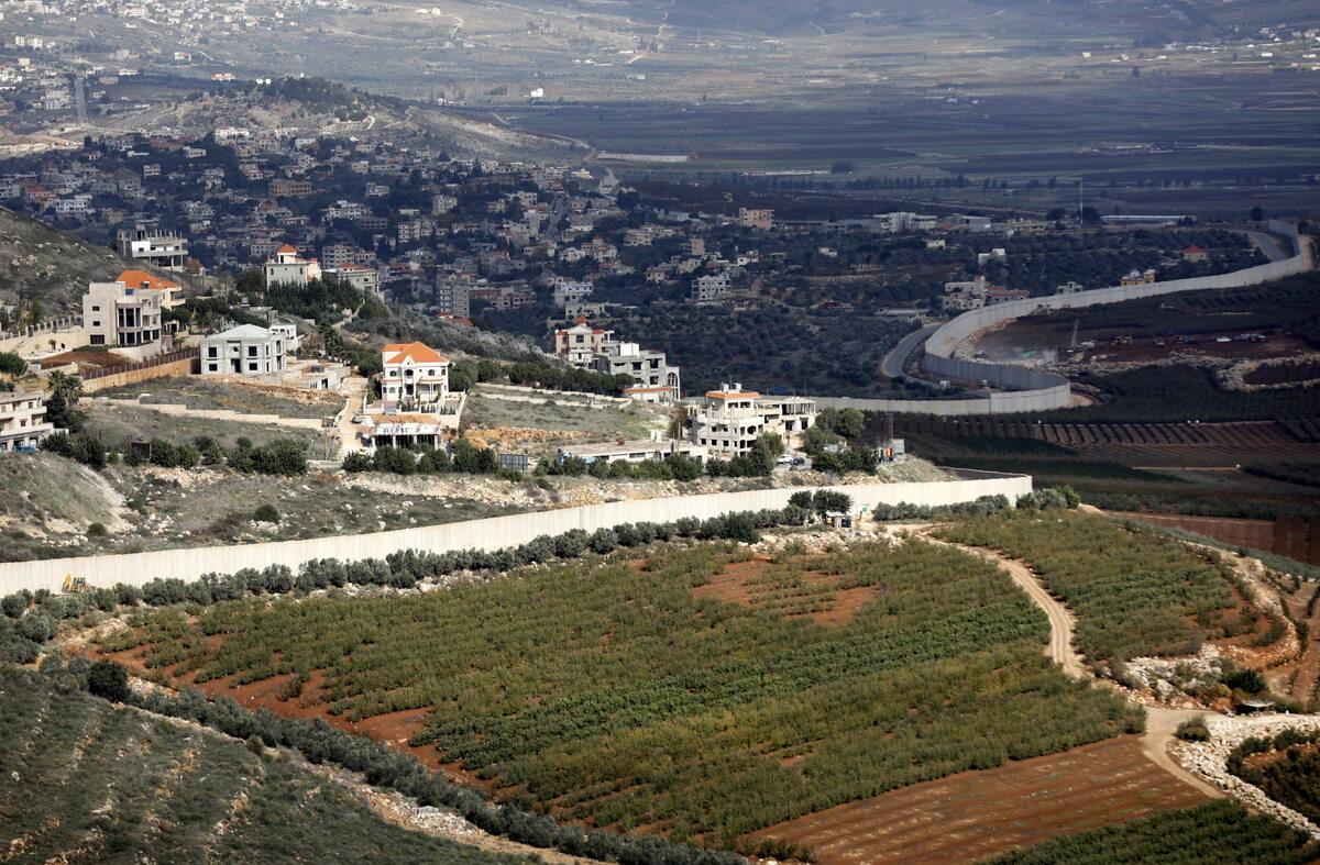 Mur na granicy Izraela z Libanem