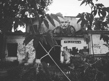 Mural upamiętniający Roberta Brylewskiego