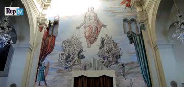 Mural znajduje się na ścianie katedry diecezjalnej Terni-Narni-Amelia we Włoszech.