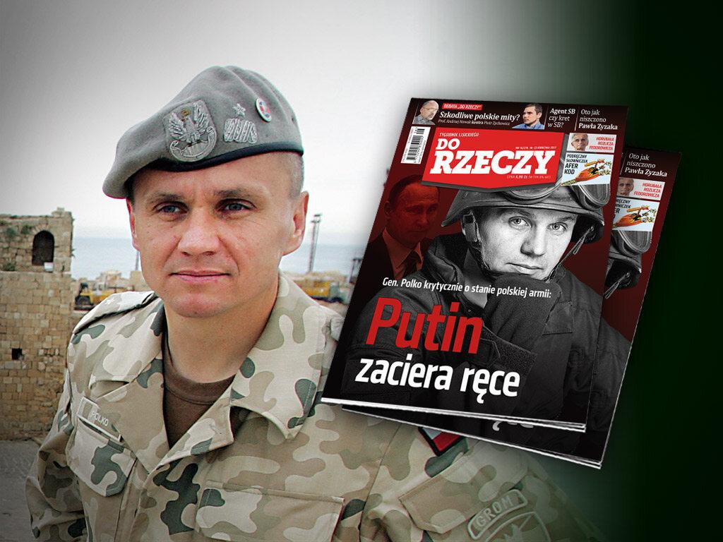 """Na łamach nowego numeru """"Do Rzeczy"""" m.in. wywiad z gen. Romanem Polko, byłym dowódcą GROM"""