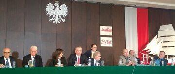 Na obchodach 40-lecia WZZ w Gdańsku zabrakło przedstawicieli najwyższych władz państwowych