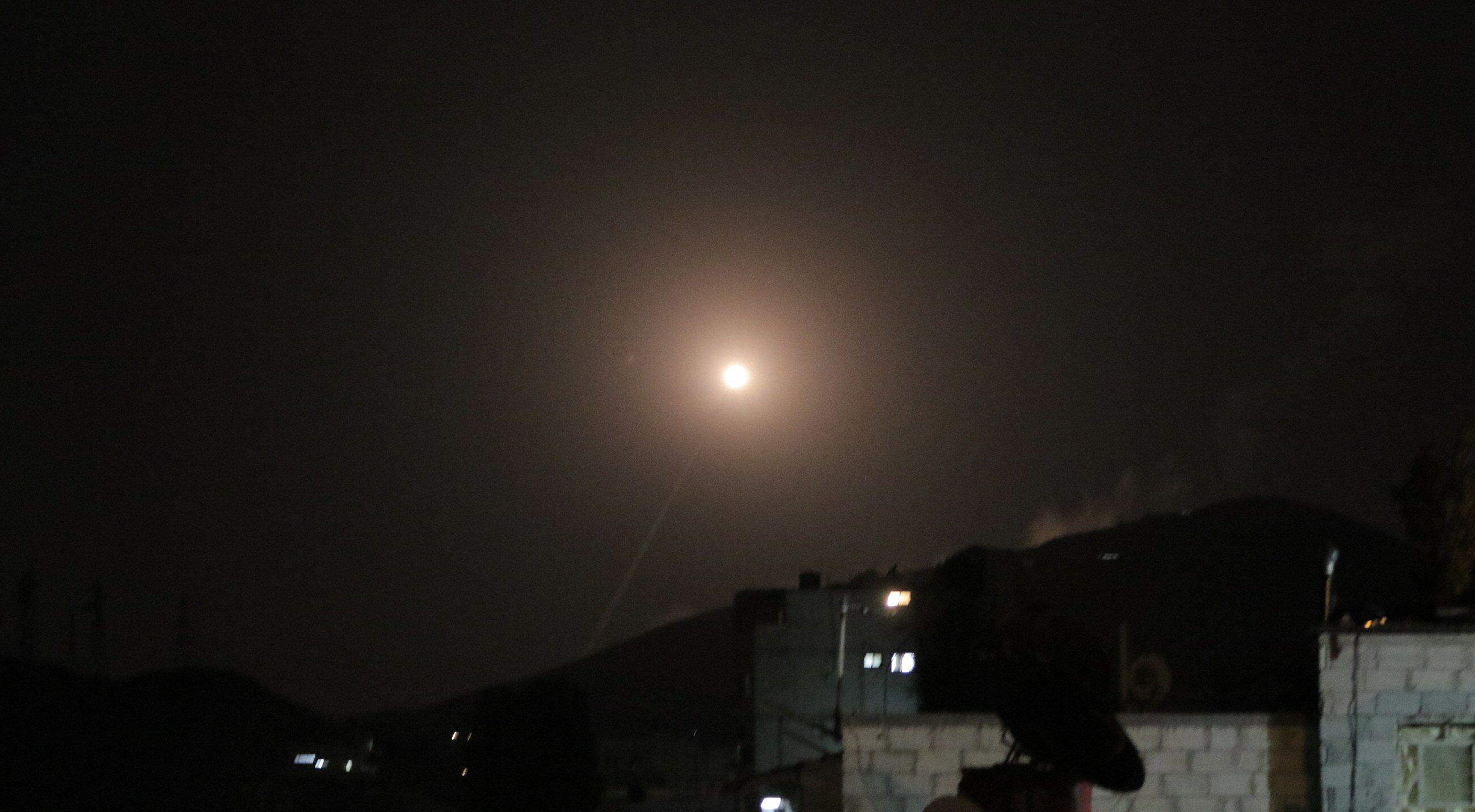 Naloty sił amerykańskich, francuskich i brytyjskich w Syrii