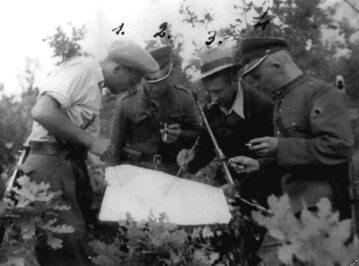 """Narada dowódców patroli oddziału kpt. """"Uskoka"""" (1948 r.)"""