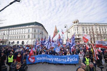 Narodowy Marsz Życia w Warszawie