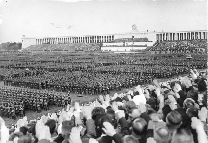 Niemcy w Norymberdze we wrześniu 1937 r.