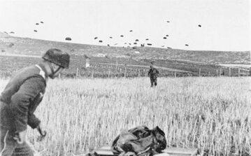 Niemieccy spadochroniarze na Krecie, 20 maja 1941 r.