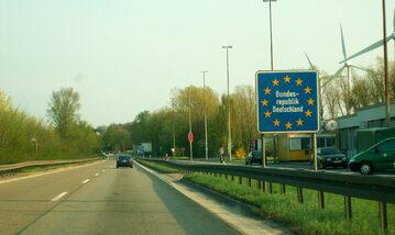 Niemiecka granica, zdjęcie ilustracyjne