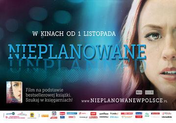 """""""Nieplanowane"""" premiera 1 listopada"""