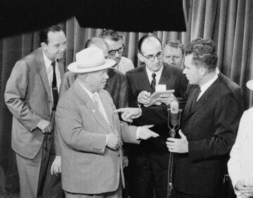 Nikita Chruszczow i Richard Nixon, 1959 rok