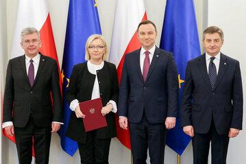 Nominacja Julii Przyłębskiej na prezesa TK