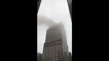 Nowy Jork: Helikopter spadł na Manhattan