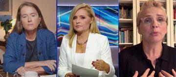 O zachowaniu aktywisty w studiu Polsat News rozmawiały Monika Jaruzelska, warszawska radna i publicystka, oraz Joanna Scheuring-Wielgus z Wiosny Roberta Biedronia.