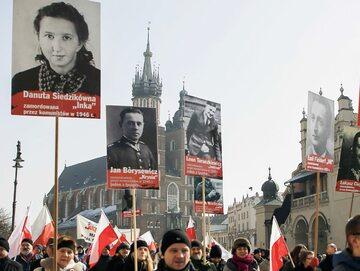 Obchody Dnia Pamięci Żołnierzy Wyklętych w Krakowie, 4 marca 2018 r.