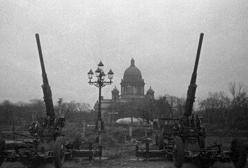Oblężenie Leningradu, 1941 rok