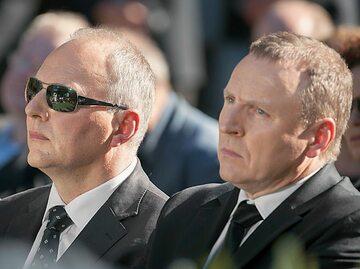 Od lewej: Jarosław Kurski (Gazeta Wyborcza) i Jacek Kurski (TVP)