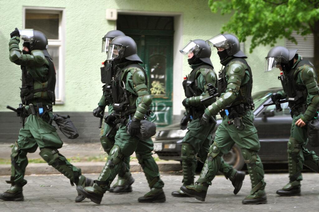 Oddział specjalny niemieckiej policji
