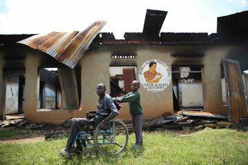 Ofiary islamistycznych bojówek w Kongu – zdjęcie ilustracyjne