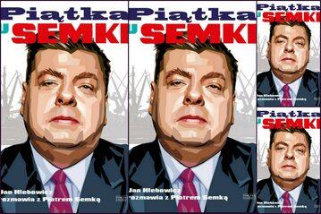 """Okładka książki """"Piątka u Semki"""""""