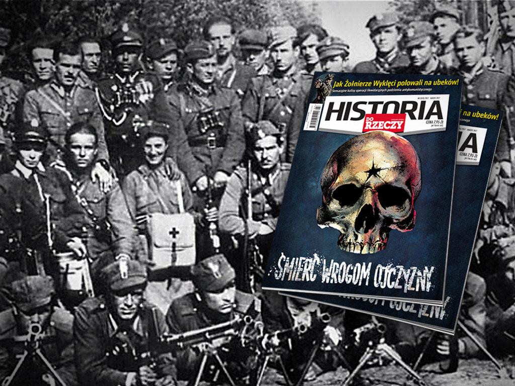 """Okładka najnowszego numeru miesięcznika """"Historia Do Rzeczy"""""""