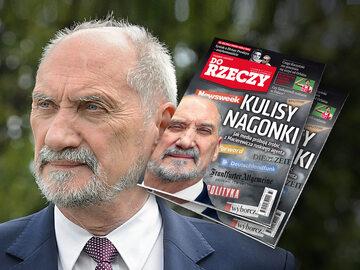 """Okładka najnowszego numeru tygodnika """"Do Rzeczy"""""""