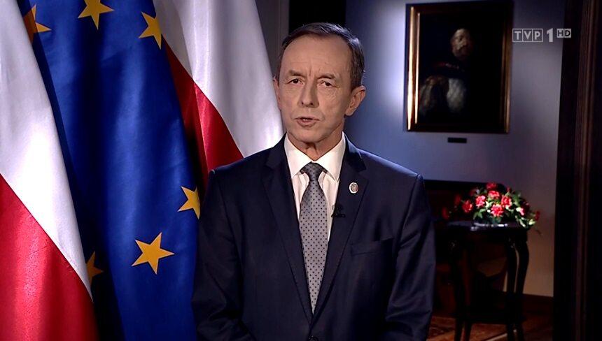 Orędzie marszałka Tomasza Grodzkiego