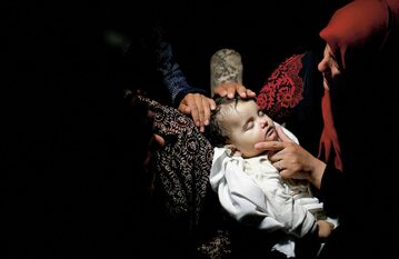 Ośmiomiesięczna Leila to najmłodsza ofiara krwawych starć izraelsko‑palestyńskich