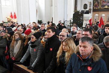 Ostatnie pożegnanie Pawła Adamowicza