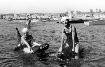 Ostatnie wakacje przed II wojną światową na warszawskiej plaży nad Wisłą