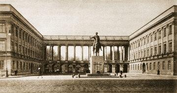 Pałac Saski, lata 20. XX w.