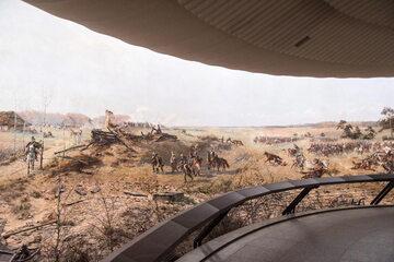 Panorama racławicka po konserwacji