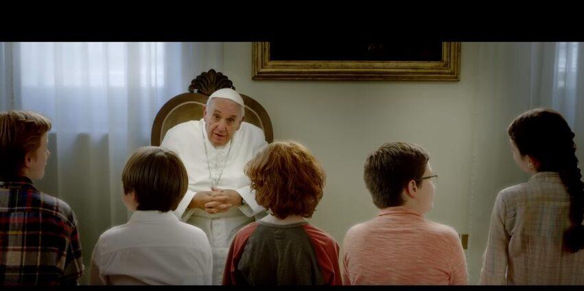 """Papież Franciszek w filmie """"Tam, gdzie mieszka Bóg"""""""