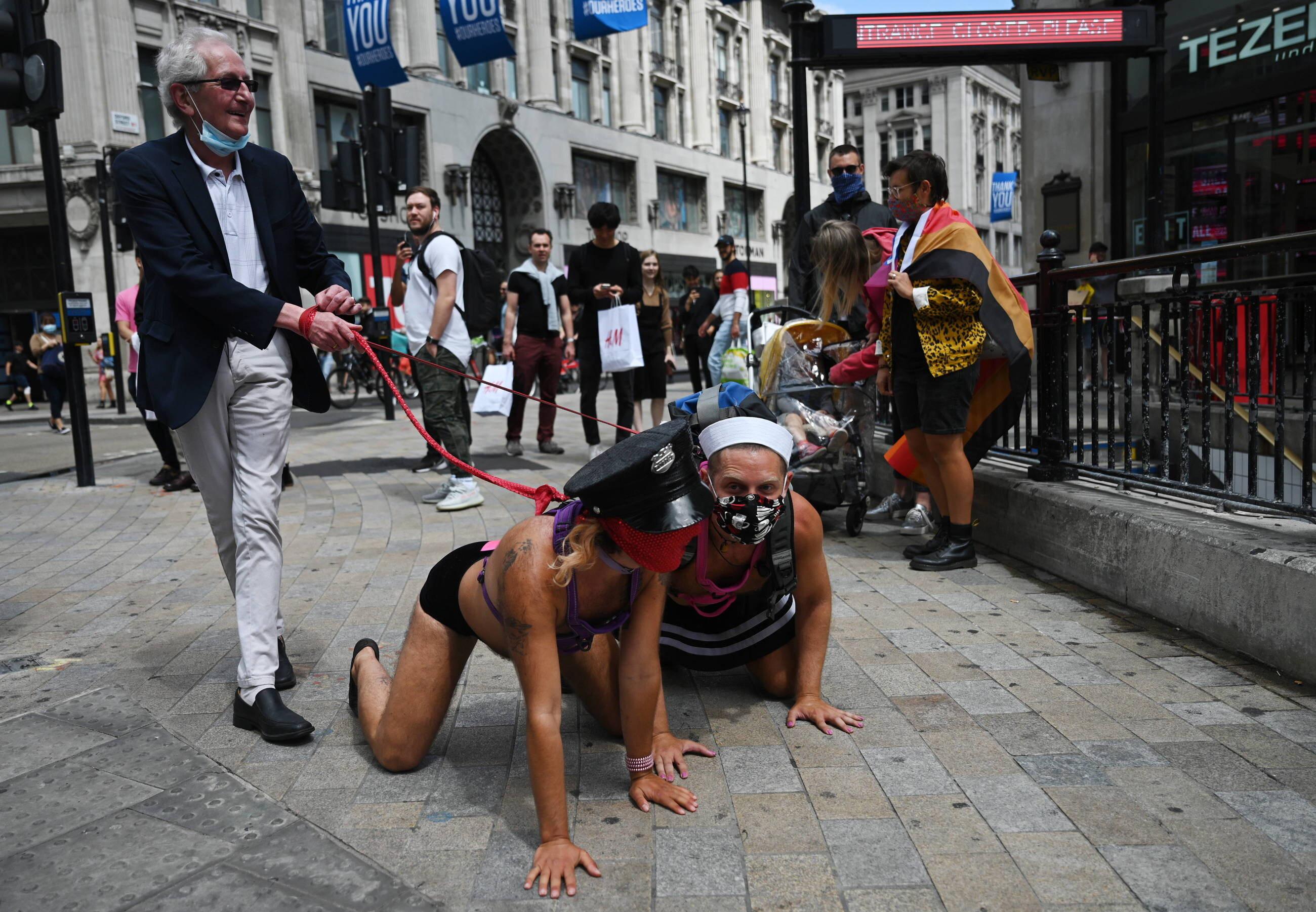 Parada Gay Liberation Front w Londynie