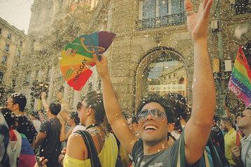Parada LGBT w Mediolanie, zdjęcie ilustracyjne