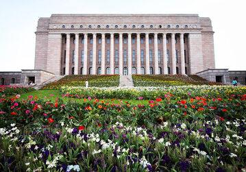 Parlament Finlandii – zdjęcie ilustracyjne
