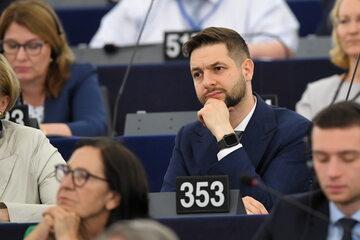 Patryk Jaki w Parlamencie Europejskim