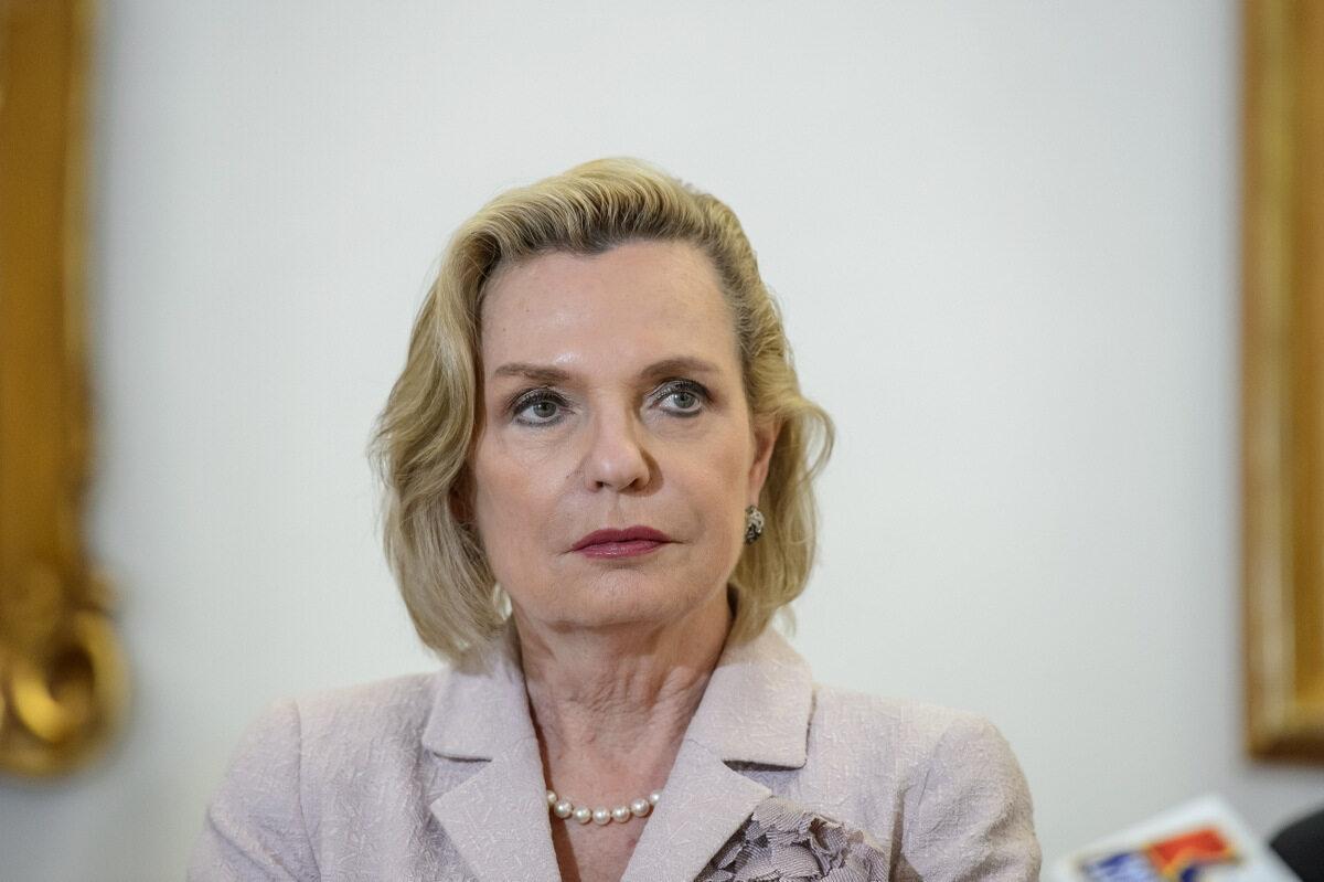 Pełnomocnik rządu ds. dialogu międzynarodowego, senator PiS Anna Maria Anders