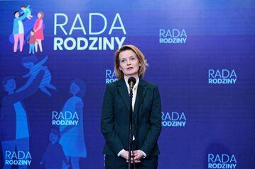 Pełnomocnik rządu ds. polityki demograficznej Barbara Socha