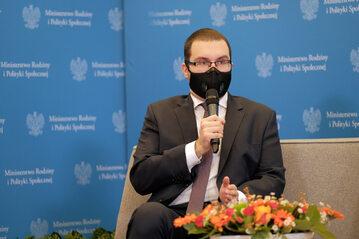 Pełnomocnik rządu ds. polityki młodzieżowej Piotr Mazurek