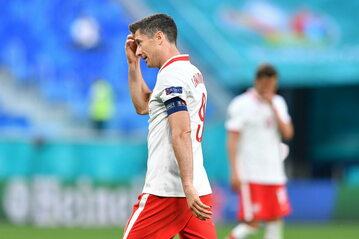 Piłkarskie mistrzostwa Europy - Euro 2020. Na zdjęciu: Robert Lewandowski