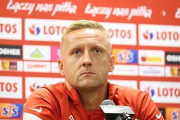 Piłkarz reprezentacji Polski Kamil Glik