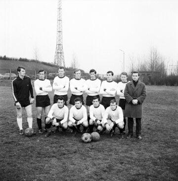Piłkarze Legii Warszawa, rok 1970