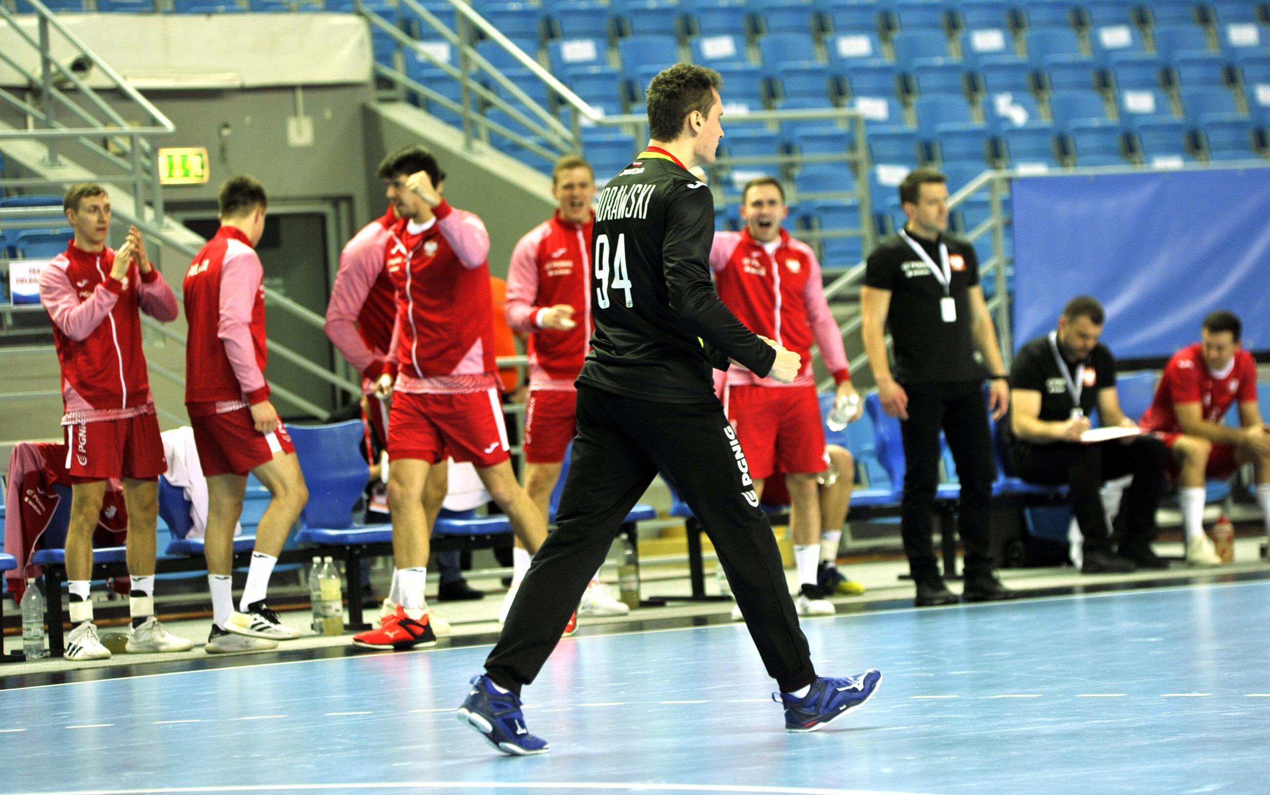 Piłkarze polskiej reprezentacji w piłce ręcznej