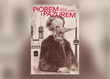 PIÓREM I PAZUREM - okładka książki