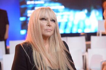 Piosenkarka Maryla Rodowicz podczas konferencji prasowej