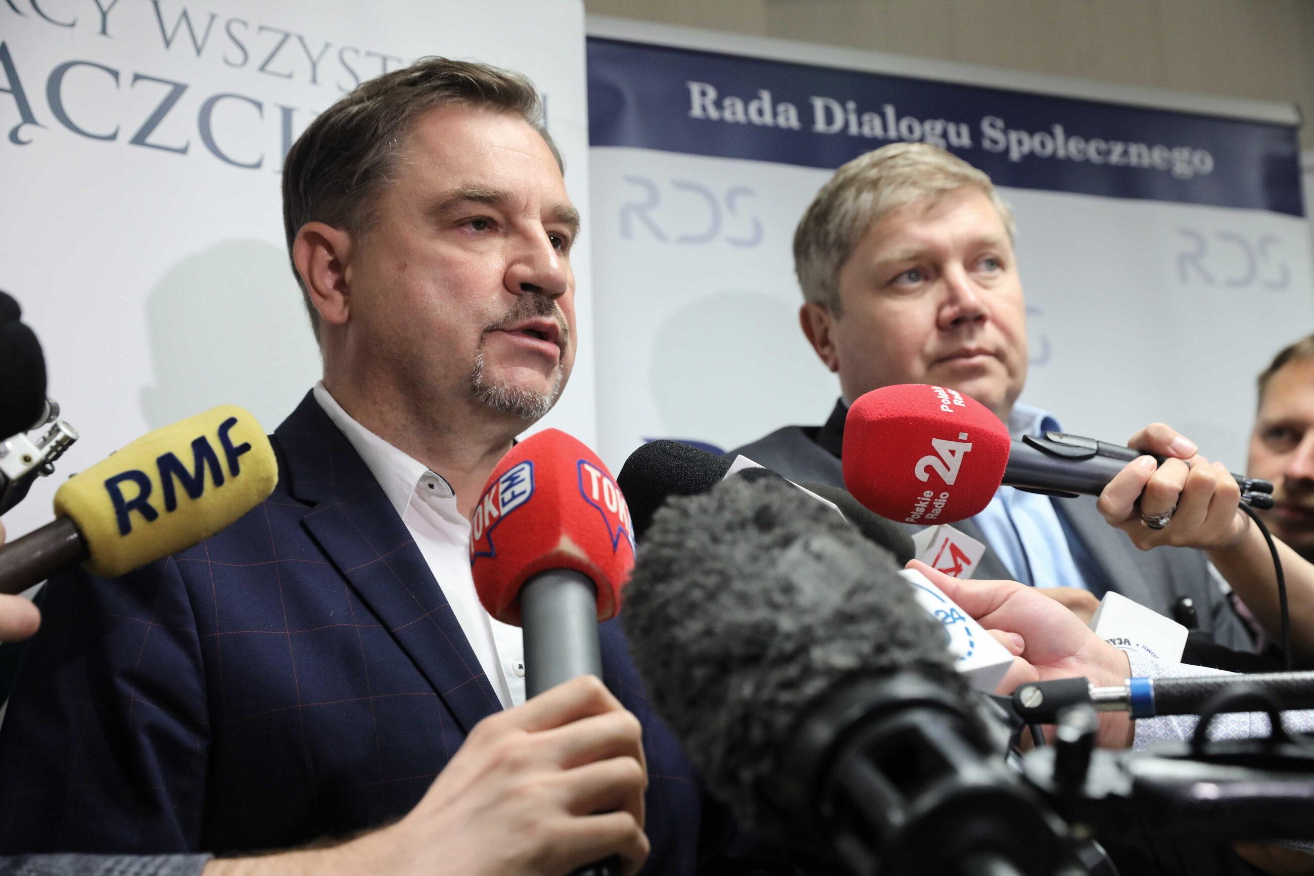 Piotr Duda i Cezary Kaźmierczak