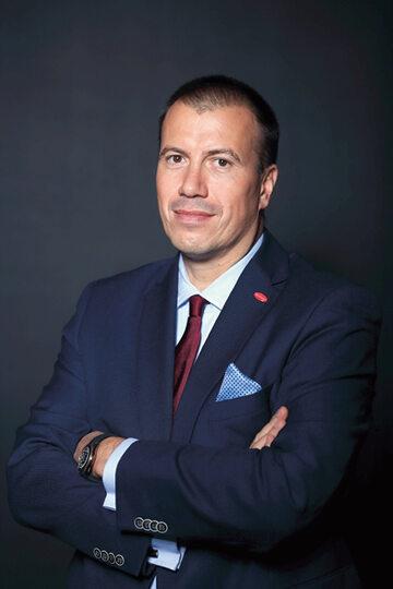 Piotr Hofman, prezes HM Inwest